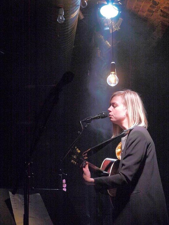 Anna Ternheim in Freiburg    Foto: Carolin Buchheim