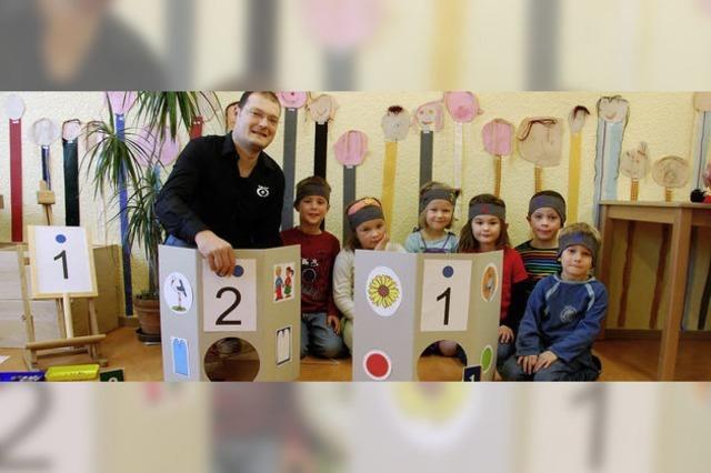 Der Kindergarten wird zum spannenden Zahlenland