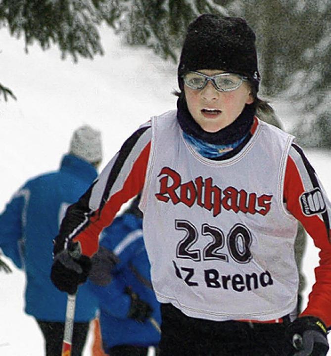 Zweiter im Deutschen Schülercup: Marco Rohrer     Foto: junkel
