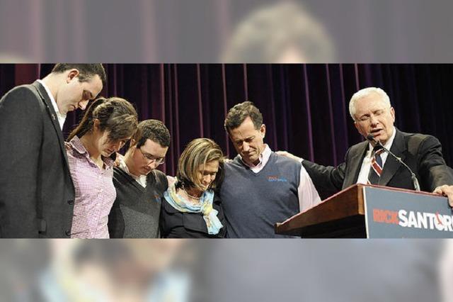 Santorum - letzte Hoffnung der Konservativen