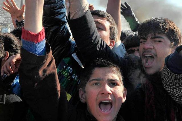Nach Koranverbrennung: Gewalt in Afghanistan eskaliert