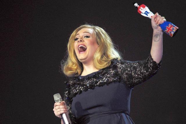 Adele ist beste Solo-Künstlerin