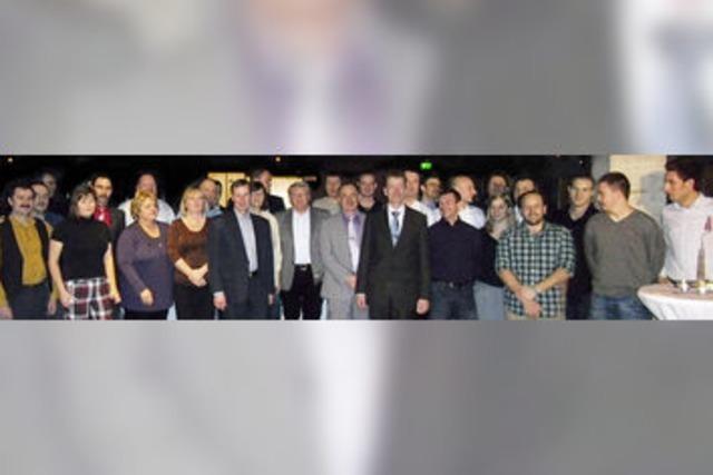 Conductix-Wampfler dankt langjährigen Mitarbeitern