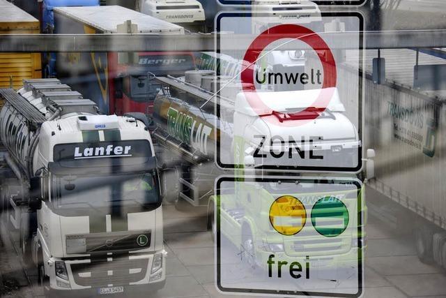Ab 2013 ist die Umweltzone für Fahrzeuge mit gelber Plakette tabu