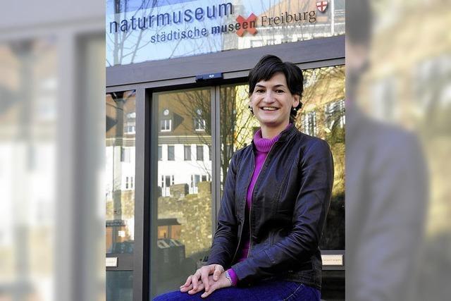 Portrait: Caroline Hilti - die künftige Chefin des Naturmuseums