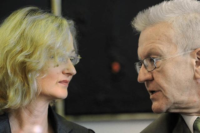 Kretschmann pfeift die Kultusministerin zurück
