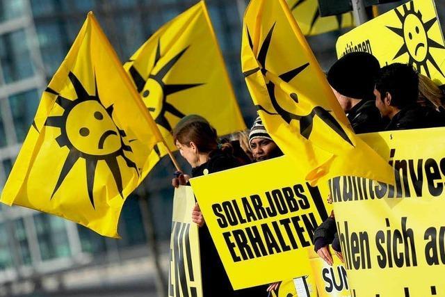 Solarbranche fühlt sich angegriffen