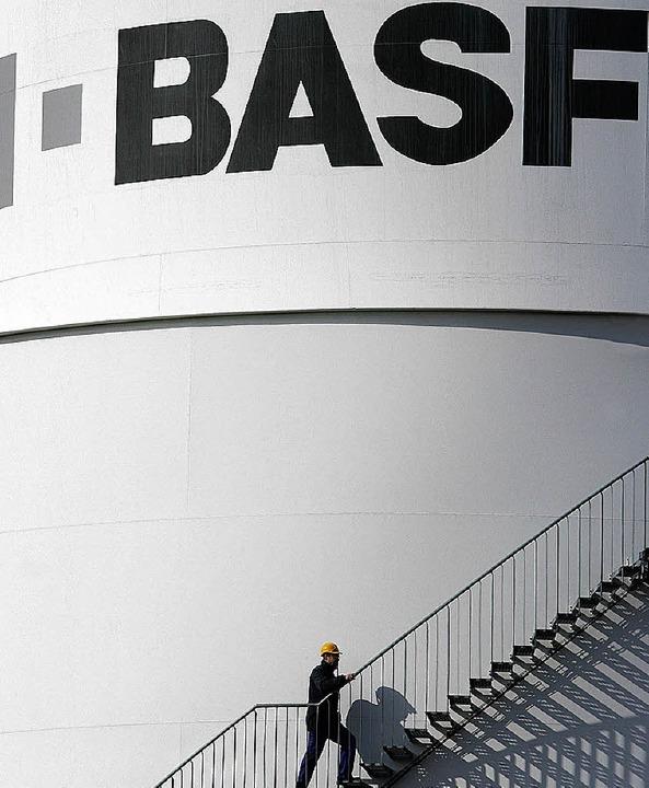 Aufwärts geht es für BASF   | Foto: dpa