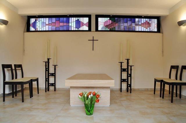 Abschiedsraum für alle Konfessionen