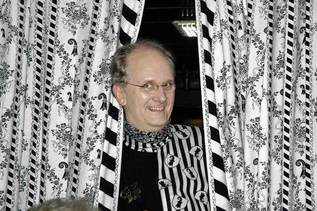Kneipenwirt Andreas Plüss liebt die Basler Fasnet