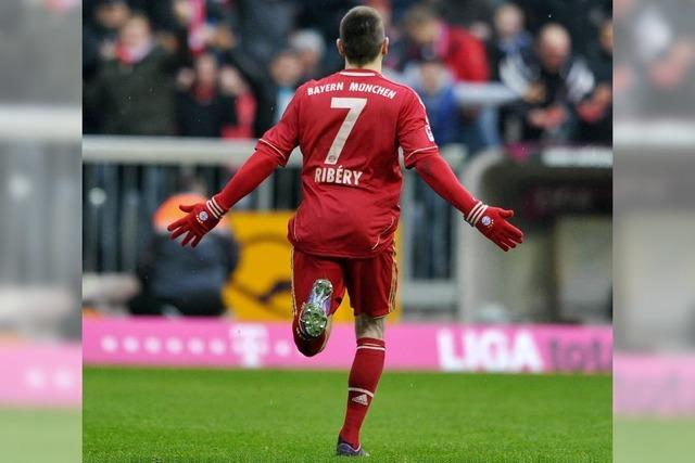 Ribéry führt die Bayern zum Sieg