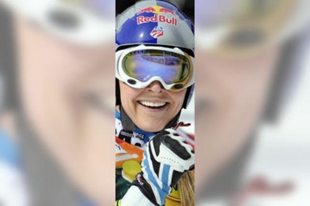 Lindsey Vonn ist auch beim Super-G von Bansko nicht zu bremsen