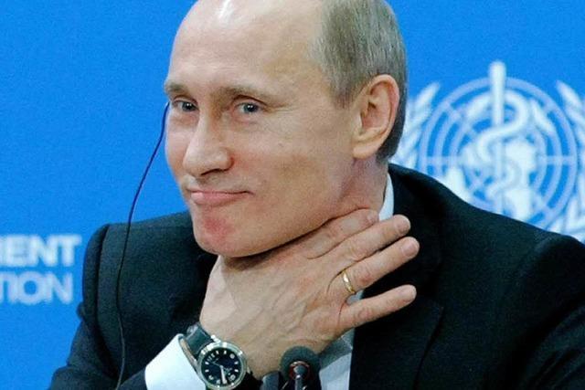 Ukrainischer Geheimdienst: Anschlag auf Putin vereitelt