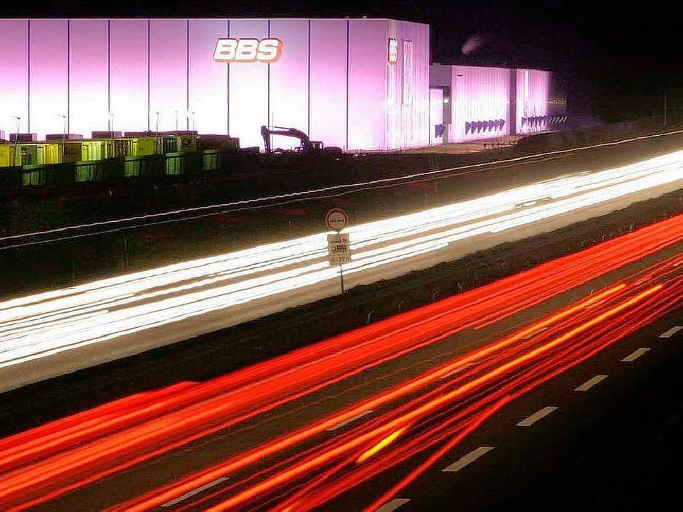 BBS-Werk in Herbolzheim an der Autobahn 5     Foto: Patrik Müller