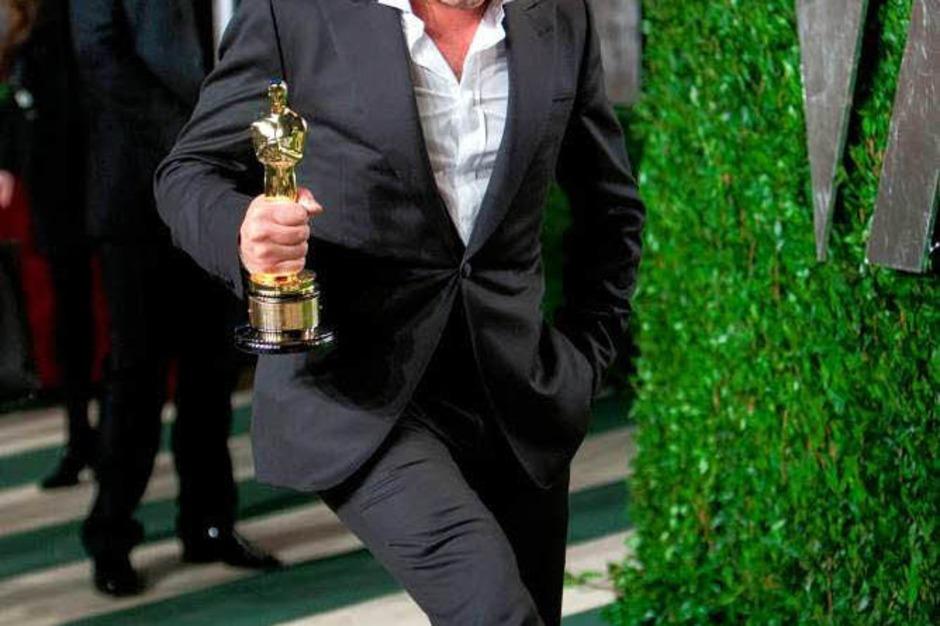 """Jean Dujardin bekam den Oscar als bester Schauspieler für seine Rolle in """"The Artist"""". (Foto: AFP)"""