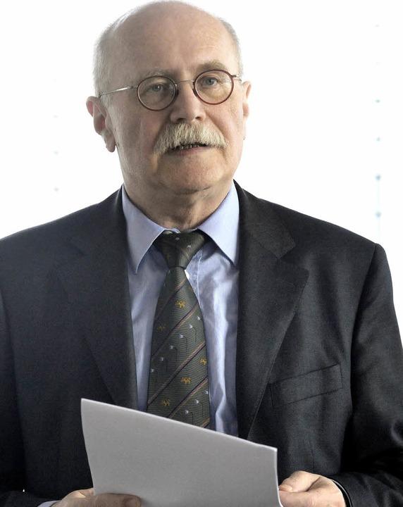 Ist die Rente sicher? Herbert Rische, ...entenversicherung, ist davon überzeugt    Foto: Markus Zimmermann