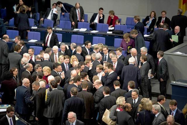Schwarz-Gelb verfehlt Kanzlermehrheit bei Griechenland-Abstimmung