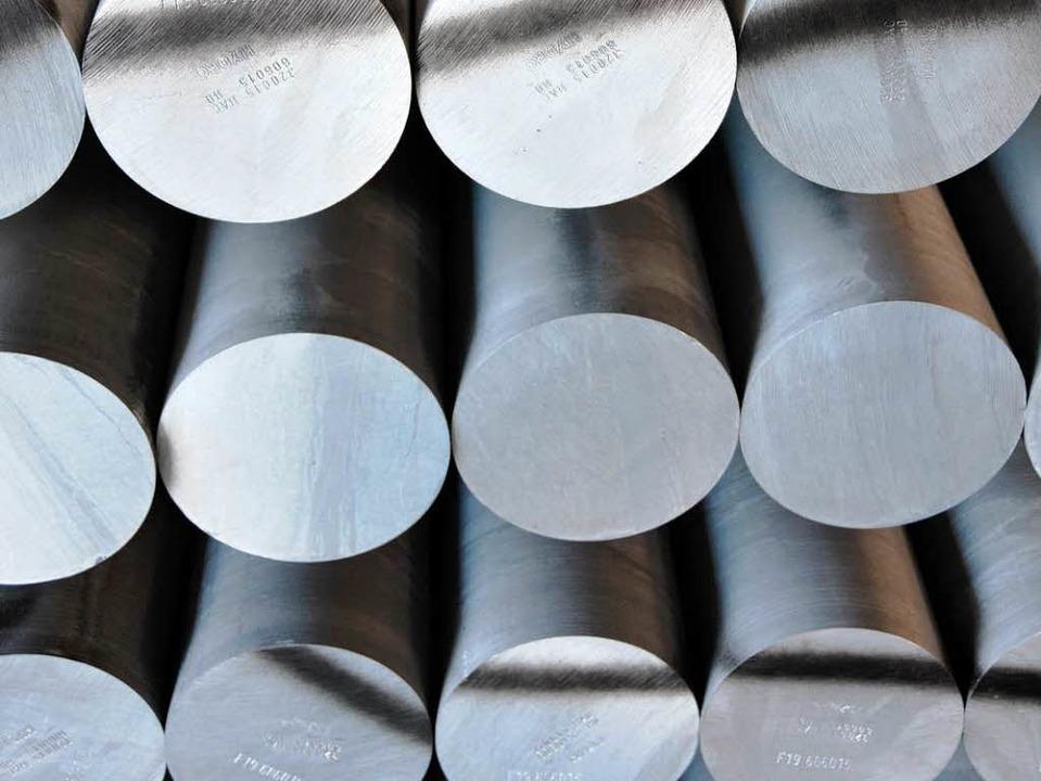 Bei der Aluminiumproduktion – hi...n – wird viel Strom verbraucht.   | Foto: HELMUT SELLER