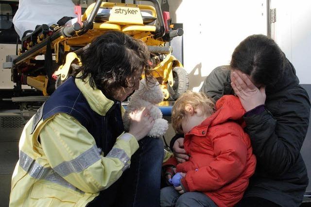 Hilfe nach dem Unglück