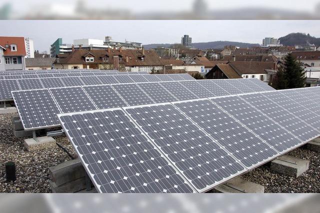 Bei Photovoltaik-Anlagen ist in der Energiestadt Lörrach noch viel Luft nach oben