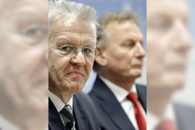 Kretschmann bleibt bei Beamten hart