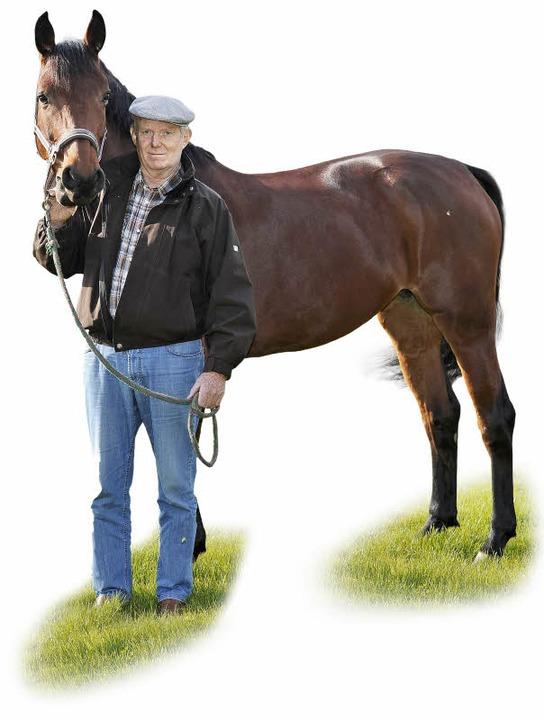 Der Mann und das Pferd. Werne Rode führt die Familientradition fort.  | Foto: Bettina Schaller