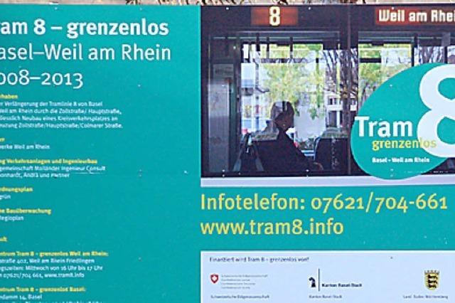 Tram 8 – jetzt geht's rund