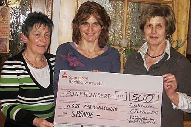 Landfrauen spenden für den Hort
