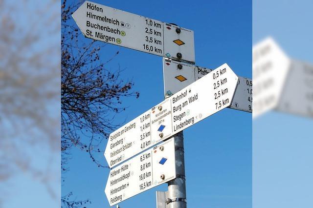 189 Kilometer Wanderwege gepflegt