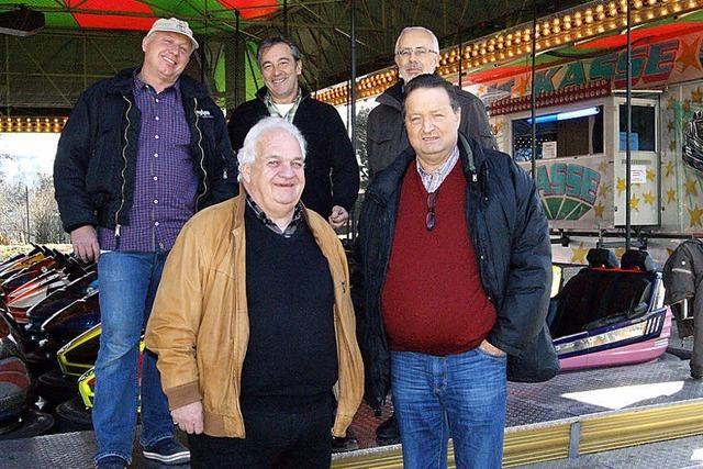 Zu Fridlini wieder ein Vergnügungspark und ein Markt