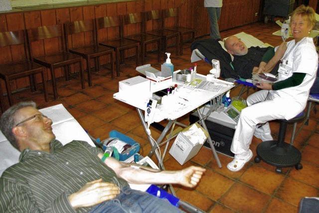 Blutspender sind treue Menschen