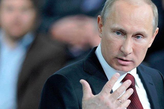Wahl in Russland: Starker Putin, schwache Gegner