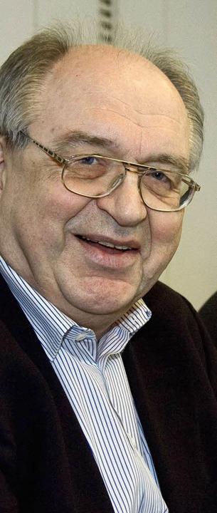Werner Franke kündigte am Mittag zunäc...seinen Rücktritt aus der Kommission.    | Foto: DDP