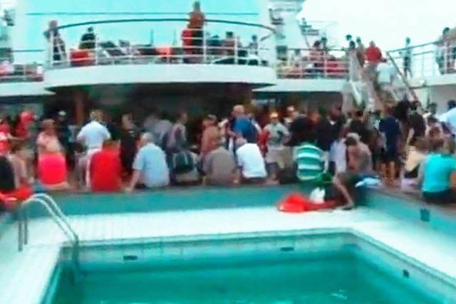 Costa Allegra: Video zeigt Zustände an Bord