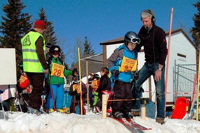 Wintersport unter blauem Himmel – einfach traumhaft