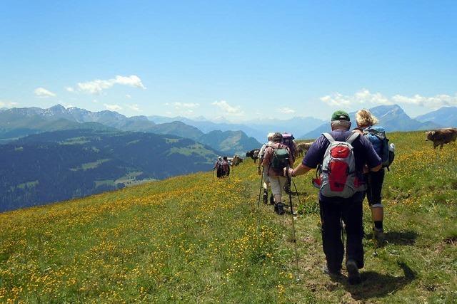 Eine breite Palette an Wander- und Freizeitangeboten