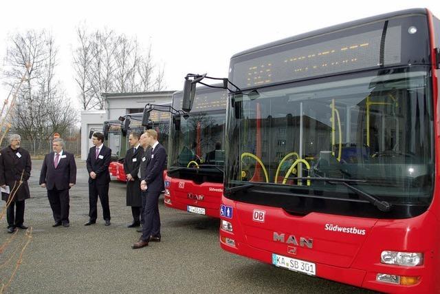 1,35 Millionen Euro für fünf neue Busse