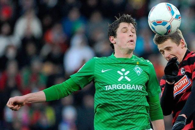 Immanuel Höhn bestreitet gegen Schalke sein fünftes Profispiel