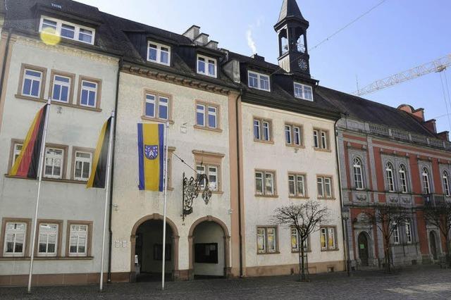 Architekten stellen Pläne für Rathausumbau vor