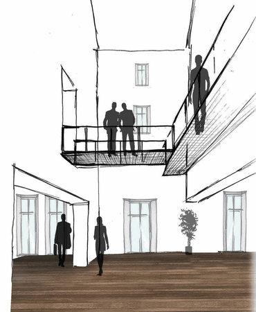 waldkirch info veranstaltung architekten stellen pl ne f r rathausumbau vor badische. Black Bedroom Furniture Sets. Home Design Ideas