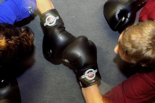 Boxen statt Gewalt