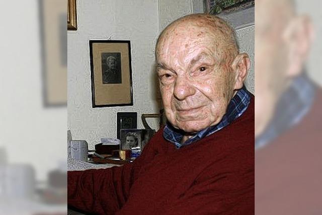 D' Reitter Hans feiert seinen 90. Geburtstag