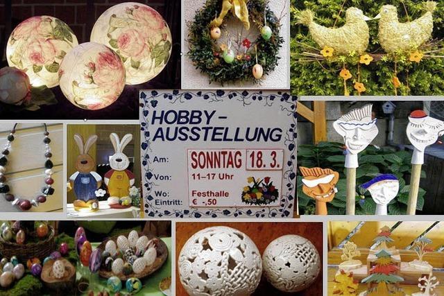 Osterhobbymarkt in den Startlöchern