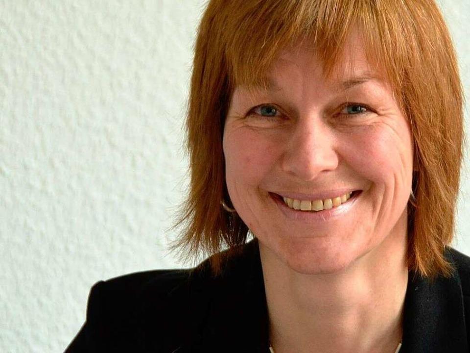 Susanne Wienecke tritt bei der OB-Wahl  an.    Foto: Hans-Jürgen Truöl