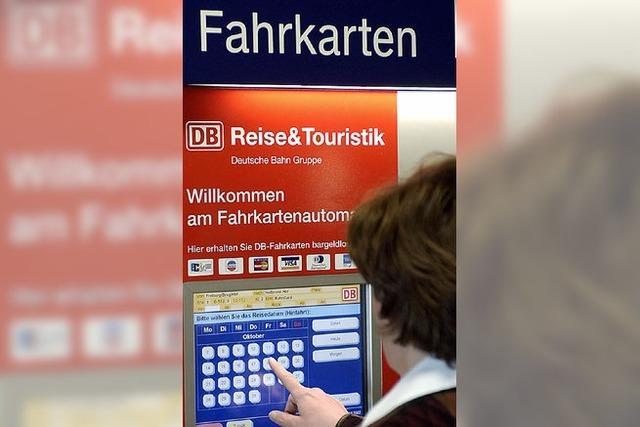 Automaten ohne Netz und Bahnreisende mit Frust