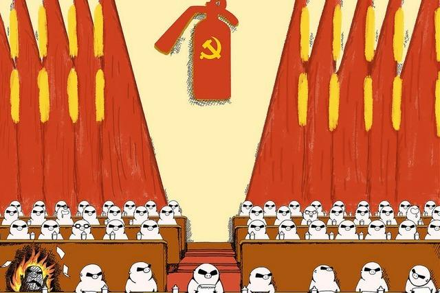 Internet-Karikaturen trotzen dem Regime in Peking