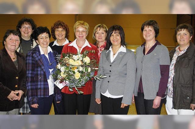 Landfrauen-Biene für Barbara Hering
