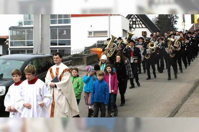Dittishauser feiern Kathedra Petri