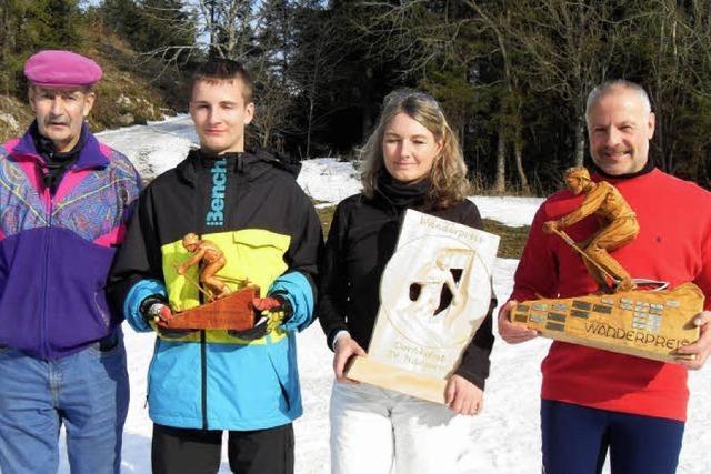 Ein Fest für die jungen Alpinsportler