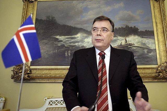 Islands Ex-Premier drohen zwei Jahre Haft